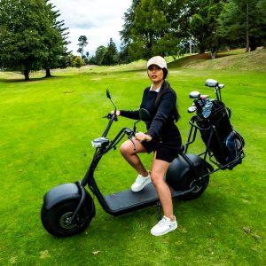 2 wheel golf cart scooter